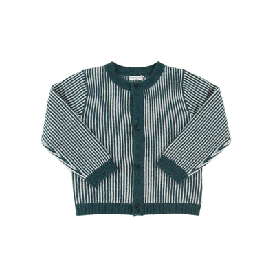 Meredith Cardigan-Emerald - Kids Edition