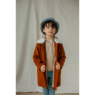 Jess Coat-Rust - Kids Edition