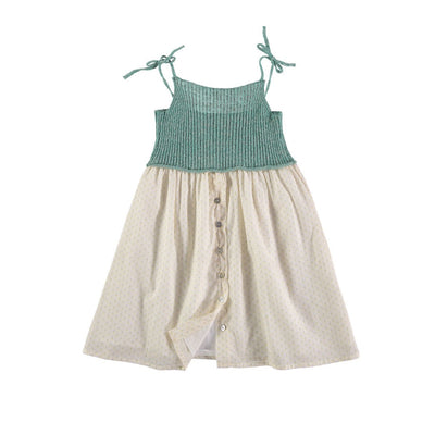 Alberta Knit Dress - Mint - Kids Edition