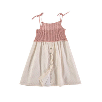 Alberta Knit Dress - Rose - Kids Edition
