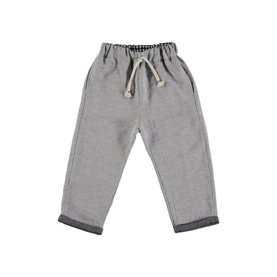 Gerard Cotton Melange Pant - Kids Edition