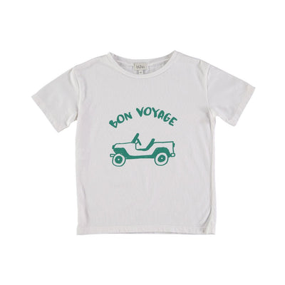 Leo Organic Cotton T-Shirt - Buho, a designer children shoes and accessories brand based in Barcelona, Spain. Carried by Kids Edition, the best online designer children clothing boutique based in Vancouver, Canada.