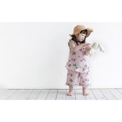 Plant Shortsleeve Pajama Set - Kids Edition