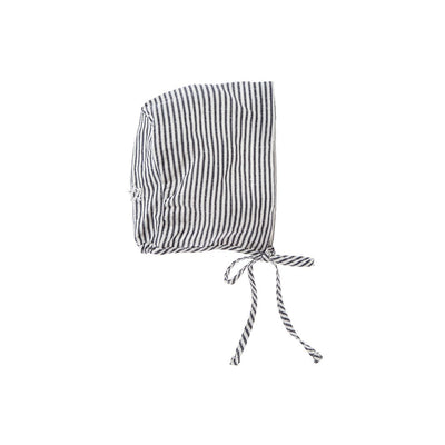 Striped  Bonnet - Tocoto Vintage,  a vintage style designer children clothing brand based in Barcelona, Spain. Carried by Kids Edition, the best online designer children clothing boutique based in Vancouver, Canada.