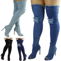Thigh High Winter Women Boots
