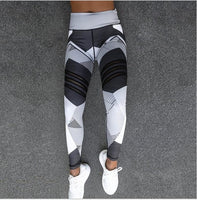 Mesh Breathable High Waist Sport Leggings Plus Size