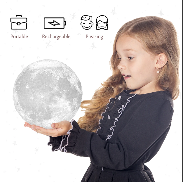 Seek the moon light and use these lighting ideas for your children's room