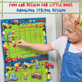 Potty Training Chart for Toddlers – Cars Design - Sticker Chart, 4 Week Reward Chart - Athena Futures Inc.