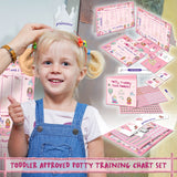 Potty Training Chart For Toddlers – Princess Design - Reward Your Child – Sticker Chart, 4 Week Chart - Athena Futures Inc.