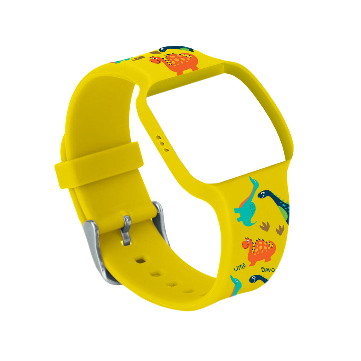 Dinosaur Yellow Watch Band for Athena Futures Potty Training Watch - Athena Futures Inc.