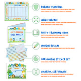Potty Training Chart For Toddlers – Reward Your Child – Sticker Chart, 4 Week Chart - Athena Futures Inc.