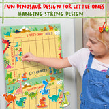 Potty Training Chart For Toddlers – Dinosaur Design - Reward Your Child – Sticker Chart, 4 Week Chart - Athena Futures Inc.