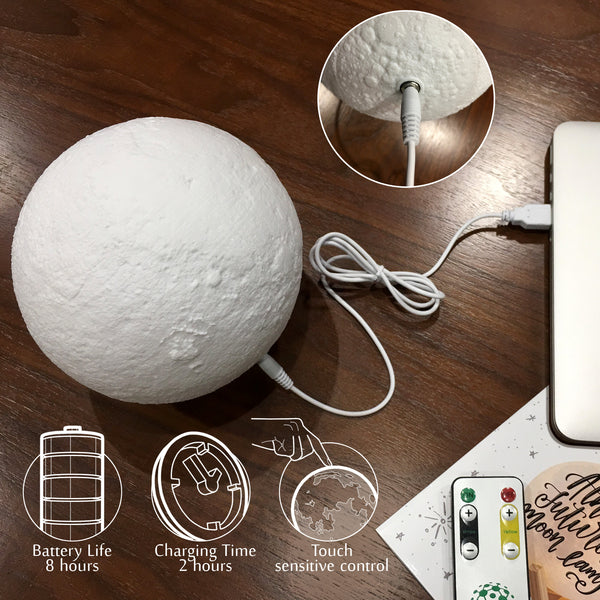 Image result for moon lamp