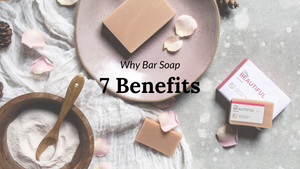Benefits of handmade bar soap over shower gel