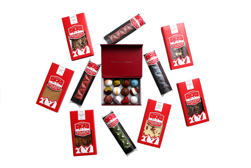 Chocolates to bring you delights by Solasta Chocolate
