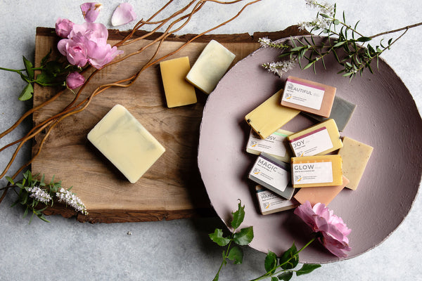 Natural Handmade Soap Mini Bar Samples