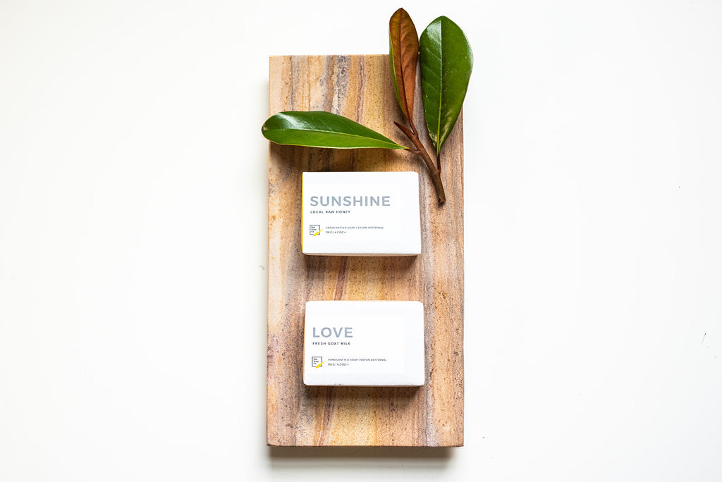 Gentle Olive Oil Soap - minimalist with plant-based essential oils