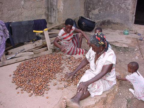 Shea Butter provides income and independence for women in the Sahel region.