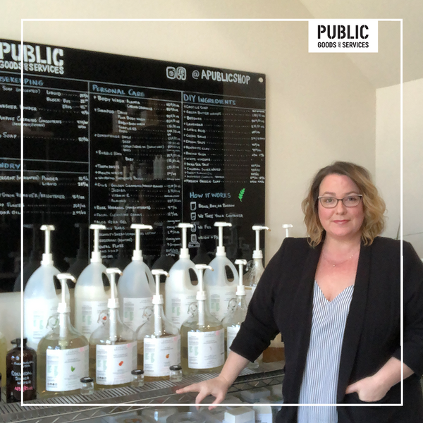 Jolene Dobson - Owner of Zero Waste Refill Store Public Goods and Services in Seattle