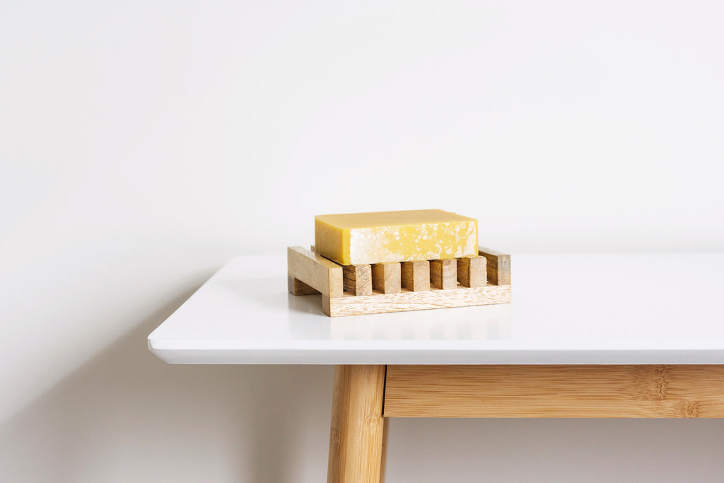 Minimalist natural soap to take care of yourself