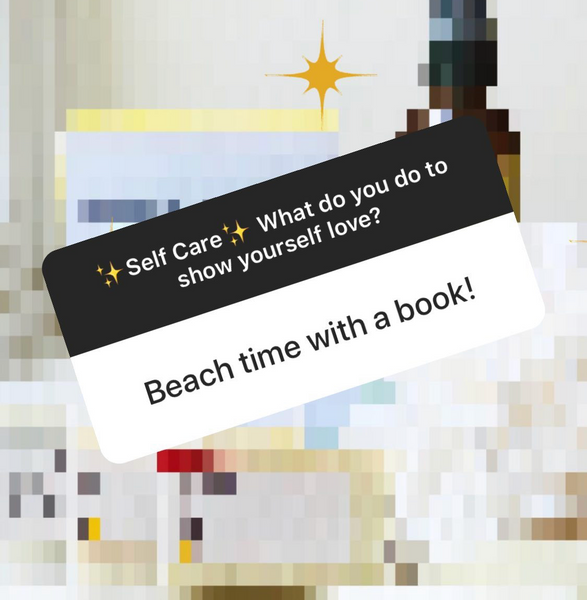 Beach time with a book!