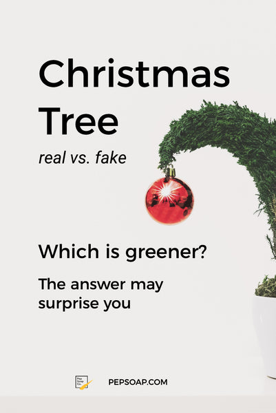 Christmas Tree - Real vs. Fake - which is greener
