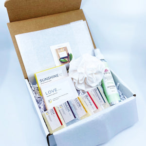 2020 Box with Natural Soap and Health Canada Approved Hand Sanitizer