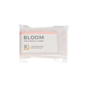 BLOOM - handmade soap with organic hibiscus