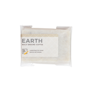 EARTH - coffee soap to gently exfoliate your skin