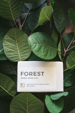 Green Clay Soap FOREST by Pep Soap Co. like a refreshing walk in an evergreen forest