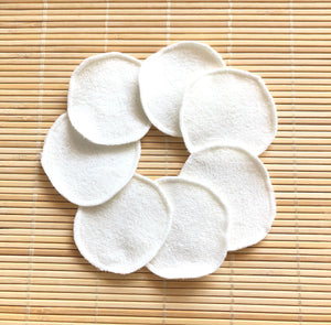 Reusable Bamboo Makeup Remover Pads - set of 7