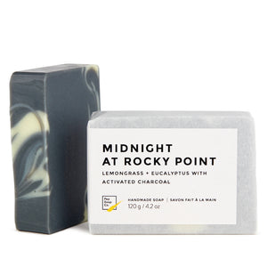 Midnight with detoxifying activated charcoal, lemongrass and eucalyptus essential oil for beautiful skin