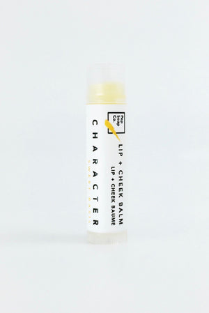 Lip + Cheek Balm herbal scent for soft healthy kissable lips by Pep Soap Co.