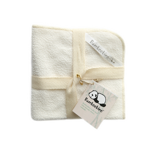 Organic bamboo face cloths and reusable makeup remover cloth