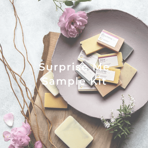 Surprise Me Sample Kit - 5 handmade soap mini bars #PerfectGift