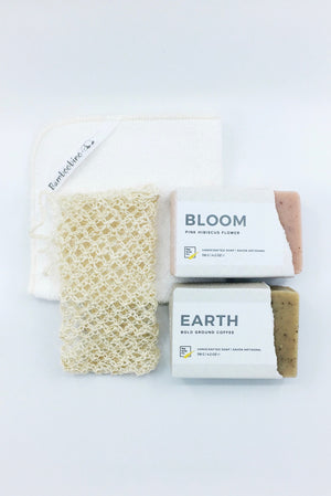Soft Skin Gift Box for tea and coffee lovers BLOOM + EARTH by Pep Soap
