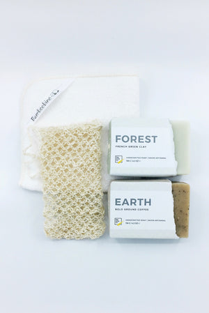 Soft Skin Gift Box for nature lover EARTH + FOREST by Pep Soap