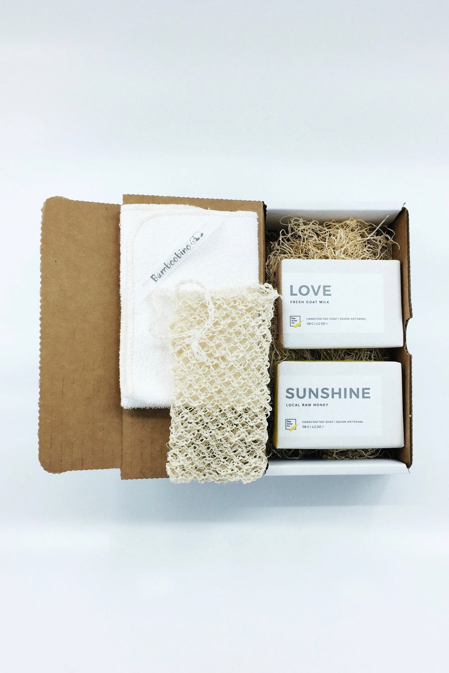 Soft Skin Gift Box for everyone LOVE + SUNSHINE by Pep Soap
