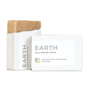 EARTH - Coffee scrub and soap in one