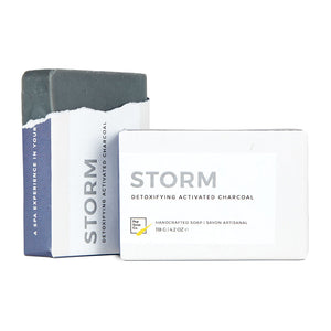 STORM - Charcoal Soap for oily skin