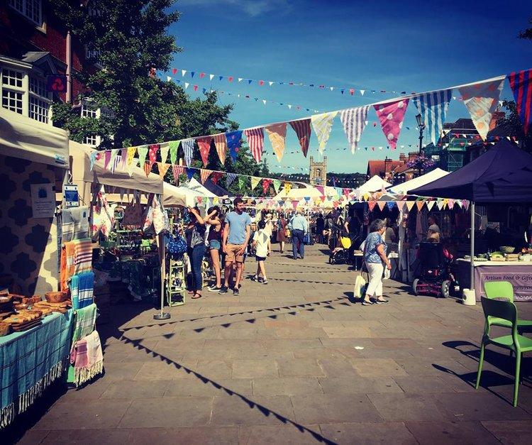 22 July: Duck Pond Market Henley
