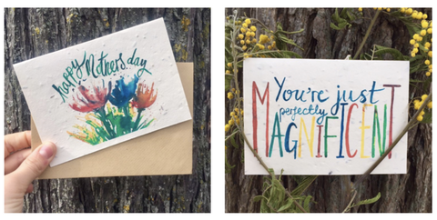 plantable mothers day cards