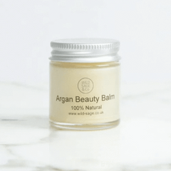 argan face balm from Wild Sage and Co