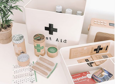 plastic free first aid kit