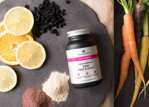 Skin and nails supplement from Wild Nutrition