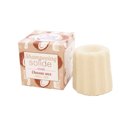 Coconut and Vanilla Shampoo Bar for Dry Hair - Acala