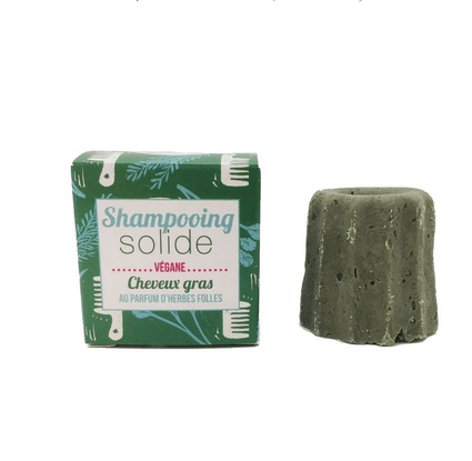 Wild Herbs Shampoo Bar for Oily Hair - Acala