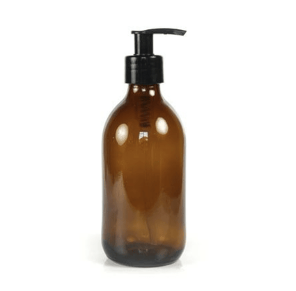 250ml Amber Glass Pump Bottle