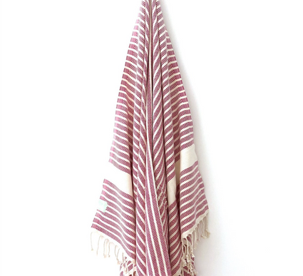 Berry Luxe Hamman Towel from My Luxe