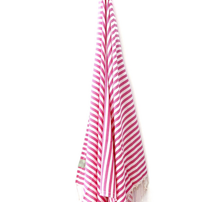 Pink Cherry Hamman Towel from My Luxe